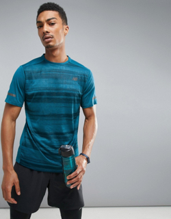 New Balance Running Max Intensity T-Shirt In Blue MT71047MRU - Blue