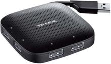 UH400 USB Hub - USB 3.0 - 4 porte - Svart