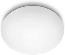 Suede ceiling lamp white 4x10W 10V Ceiling lamp