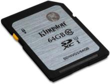 - flash-minneskort - 64 GB - SDXC UHS-I