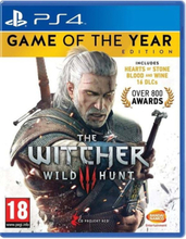The Witcher III: Wild Hunt - Game of The Year Edition - Sony PlayStation 4 - RPG