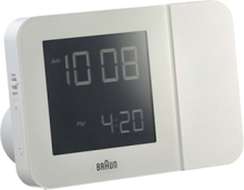 Klockradio BNC 015 Projection Clock white - Vit