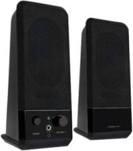 SPEEDLINK Event - högtalare - för person - 2.0-kanals - Black