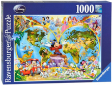 Disney's world map 1000pcs.