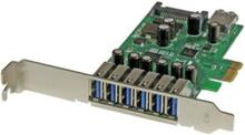 7-Port PCI Express USB 3.0 card - Standa