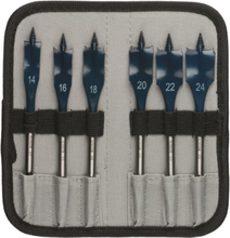 6-piece Self Cut Speed spade bit set