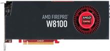 FirePro W8100 - 8GB GDDR5 RAM - Grafikkort