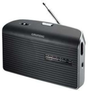 FM Radio Music 60 - personlig radio - AM/FM - Mono - Grå