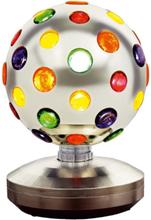 8 Disco Ball Shiny Silver