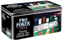 Texas Hold´em Pro Poker in tin
