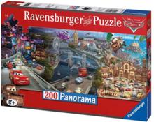 Panorama Puzzle Cars 200pcs XXL