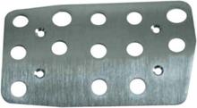 G2x & G920 Brake Pedal Plate Akcesoria - Srebrny -