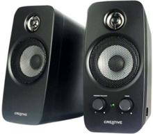 Inspire T10 2.0-högtalare - 2.0-kanals - Black