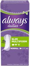 Dailies Flexistyle Slim, 40 st