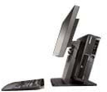 Vertical PC and Monitor Stand II