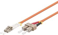 Fiber Optisk LC - SC OM2 - 3m