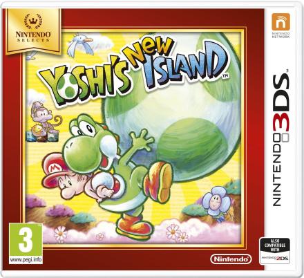 Yoshi's New Island (Select) /Nintendo 3DS
