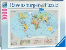 Political world map 1000pcs.