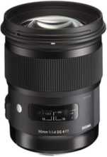 50mm F1.4 DG HSM for Nikon 13 Elements in 8 Group