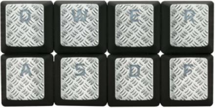 HyperX FPS & MOBA Keycap upgrade kit - Titanium