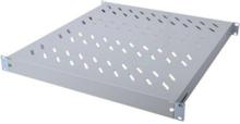 Rack shelf RAL 9005 1U 19