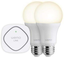 LED-glödlampa WeMo Lightning Starter Set 2 pcs. E27