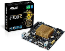J1800I-C Moderkort - Intel Bay Trail-D - Intel Onboard CPU socket - DDR3 RAM - Mini-ITX