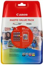 CLI 526 C/M/Y/BK Photo Value Pack