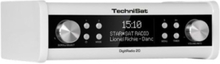 Klokkeradio DigitRadio 20 Under cabinet DAB + and FM kitchen radio - DAB/DAB+/FM - Mono - Hvit