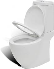 Baderom Keramikk Hvit Spesielt Design Toalett