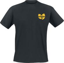 Wu-Tang Clan - Black Logo -T-skjorte - svart