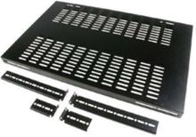 Adjustable Depth Fixed Server Rack Cabinet Shelf - rackhylde (ventileret)