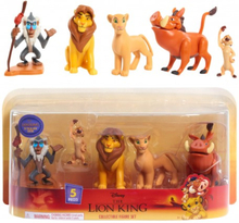 The Lion King Collectible Figure Set Lejonkungen 5st Figurer