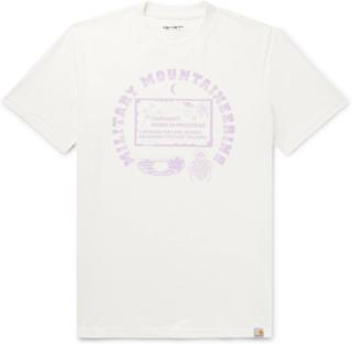 Carhartt WIP - Printed Cotton-jersey T-shirt - White - L,Carhartt WIP - Printed Cotton-jersey T-shirt - White - XS,Carhartt WIP - Printed Cotton-jersey T-shirt - White - M,Carhartt WIP - Printed Cotton-jersey T-shirt - White - XL,Carhartt WIP - Printed Co