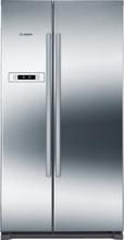 Bosch Kyl/frys Side-by-Side NoFrost, 177 cm Front i rostfritt stål med EasyClean KAN90VI20
