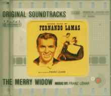 The merry widow -original soundtracks