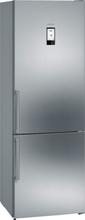 Siemens Kyl/frys iQ500 203 cm Front i rostfritt stål easyClean KG49NAI40