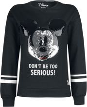 Mickey Mouse - Hode -Collegegenser - svart