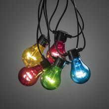 Konstsmide Ljusslinga E27 LED 237--Flerfärgad-14,5