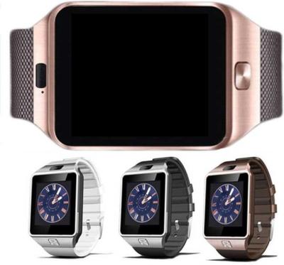 Smartwatch dz06 - kamera - bluetooth - stål - larm