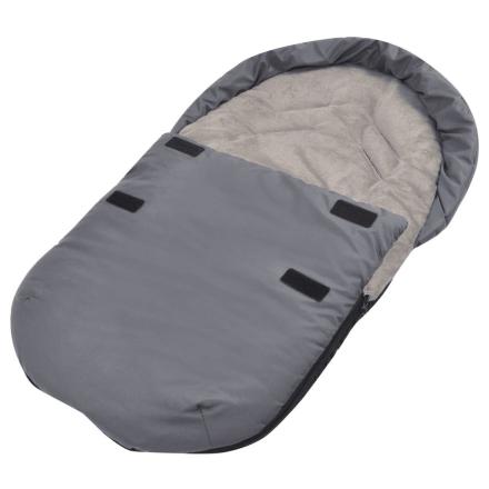vidaXL Barnepose til barnesete 75x40 cm grå