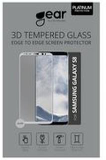 Gear by Carl Douglas Skärmskydd Samsung S8 Full Fit Silver