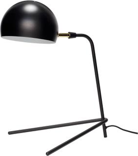 HÜBSCH bordlampe - sort metal