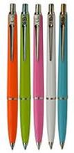 BALLOGRAF Kulpenna, Epoca P, mediumspets, plastskaft i diverse färger, blått bläck