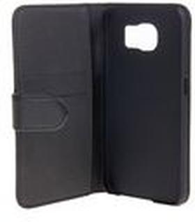 Gear by Carl Douglas Plånboksfodral till smartphone, äkta läder, 5,1'', svart