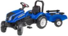 Falk New Holland Tractor Set 2/5 incl. aanhanger
