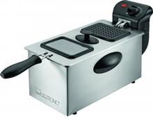 Clatronic FR 3587 Stainless Steel Friturekoger Sølv 1 stk