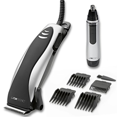 Clatronic HSM 3441 Hair Trimmer & Nasal Trimmer Set 1 kpl + 1 kpl