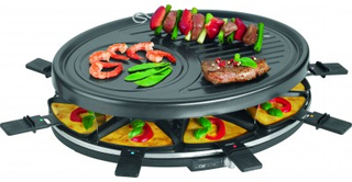 Clatronic RG 3517 Raclette Sort 1 stk