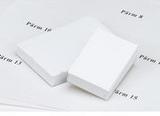 Etikettficka för pärm, 60 x 60 mm, vitt